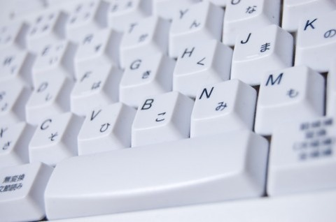 パソコンを