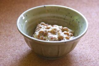 納豆にキムチ