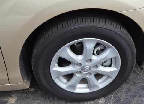 タイヤ清掃