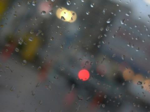 ゲリラ豪雨で