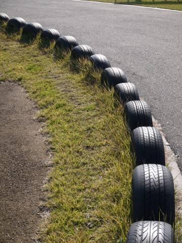 タイヤの毛