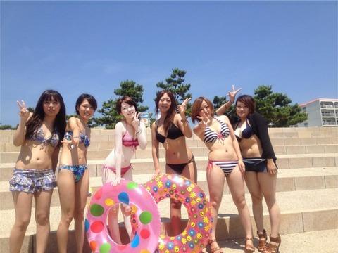 【画像】陽キャJKが水着になった結果wwwwwwwwww グッドルーザーズ
