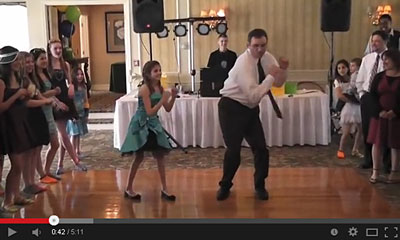 youtube動画のダンスの画像