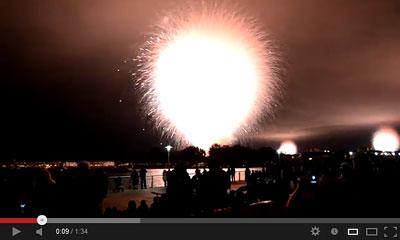youtube動画の花火の画像