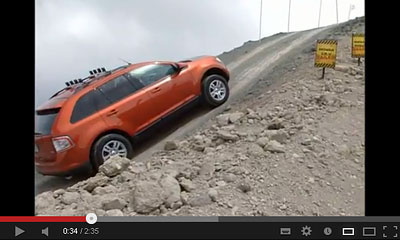 youtube動画の4WDの画像