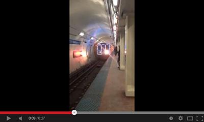 youtube動画の地下鉄の画像