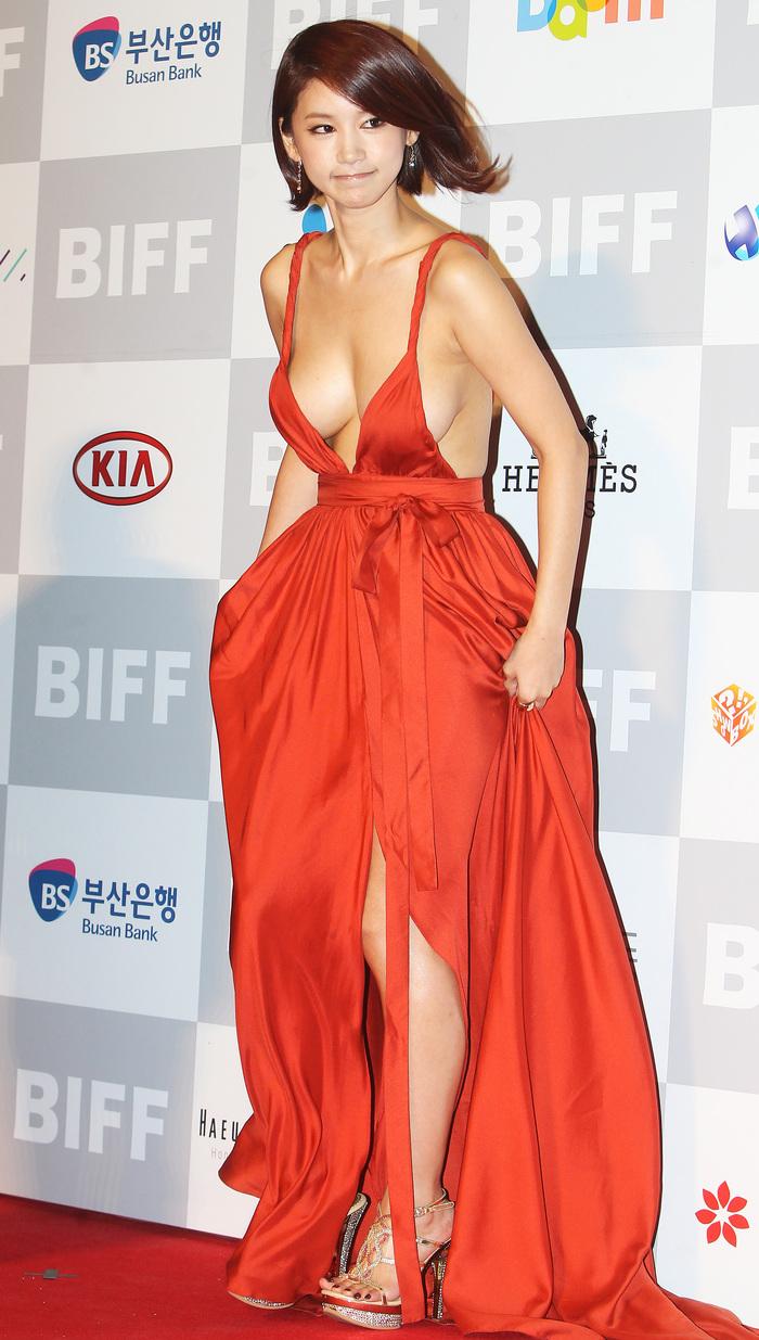 OH in Hye Orange Dress