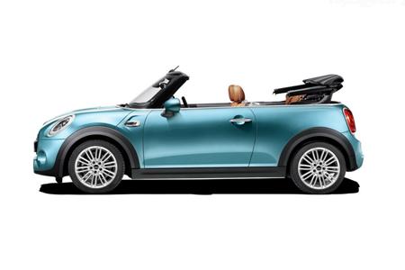 miniコンバーチブル mini convertible左側