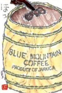 032609 絵手紙コーヒー樽