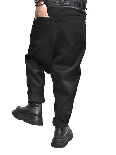 JULIUS crotch baggy  pants  着用 通販 GORDINI009
