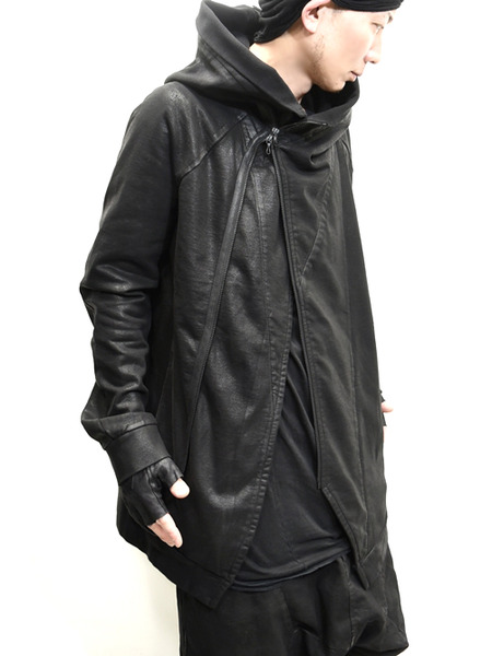 JULIUS coated zipup parka 通販 GORDINI011