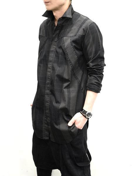 JULIUS ハーネスチェックシャツ 通販 GORDIN007