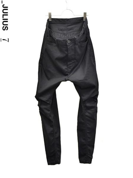 JULIUS arched pants 通販 GORDINI001 insta coorde