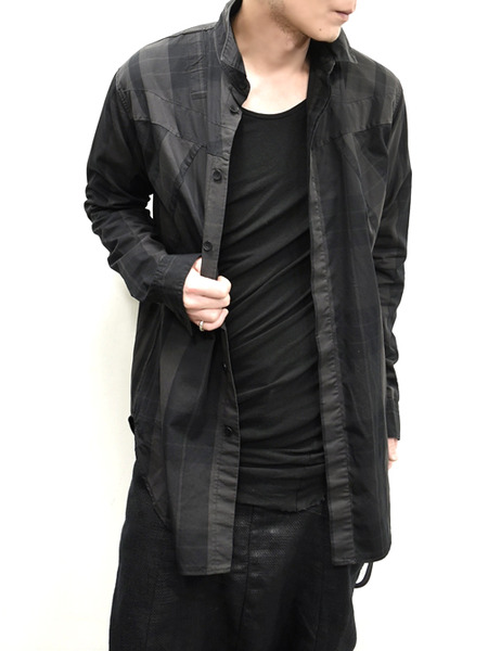 JULIUS ハーネスチェックシャツ 通販 GORDIN008