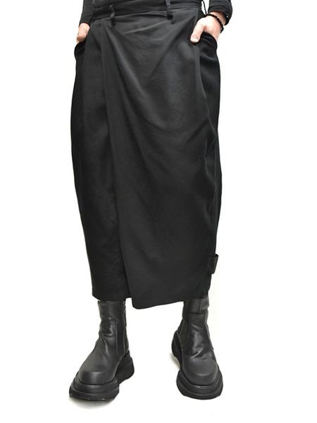 JULIUS wrap baggy trousers 着用 通販 GORDINI006