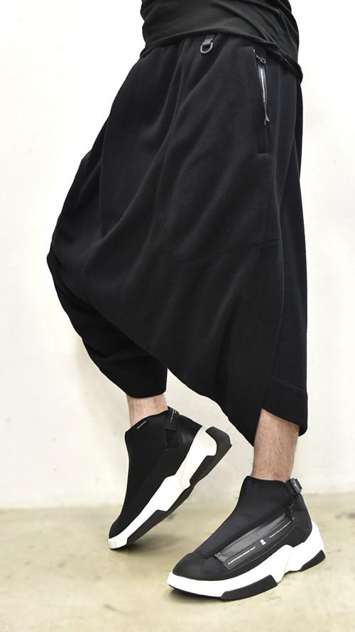 NILøS Twisted Crotch Pants 着用 通販 GORDINI002