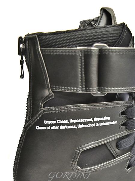 JULIUS スニーカー 黒 通販 GORDINI012のコピー