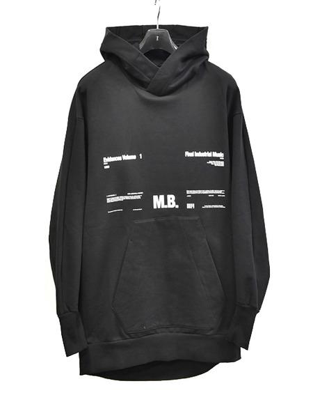 JULIUS print pull hoodie 通販 GORDINI001