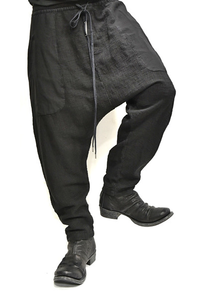 ARMYOFME paneled trouser 通販 GORDINI009