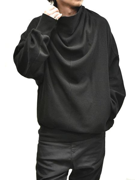 JULIUS cwl neck black 着用 通販 GORDINI006