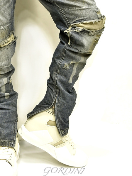 JULIUS rider pants indigo 通販 GORDINI017のコピー