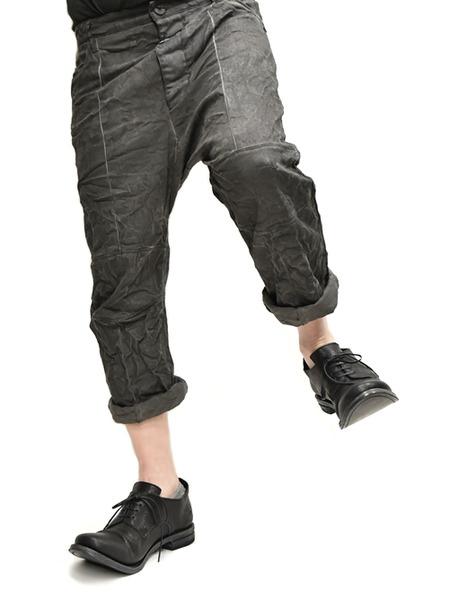 Nostrasantissima drop crotch pants通販 GORDINI011