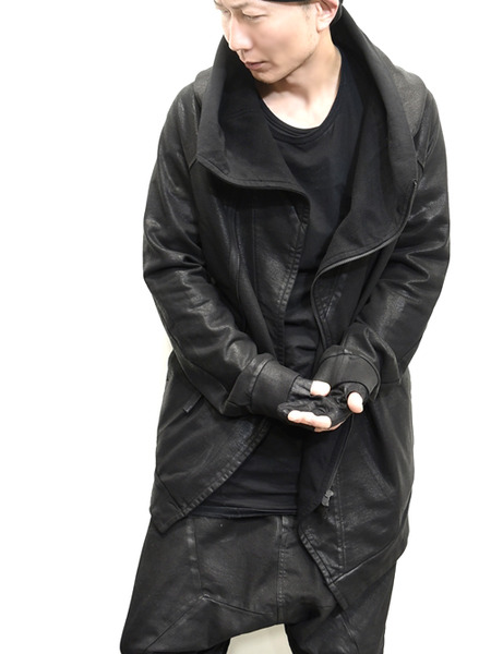 JULIUS coated zipup parka 通販 GORDINI012
