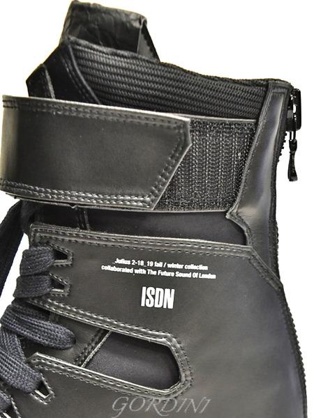 JULIUS スニーカー 黒 通販 GORDINI008のコピー