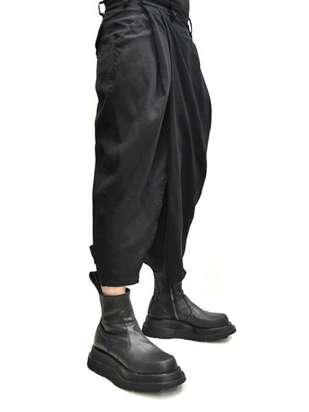 JULIUS wrap baggy trousers 着用 通販 GORDINI002