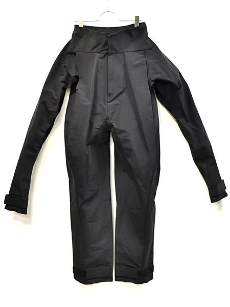 JULIUS sleeve pants black 通販 GORDINI001