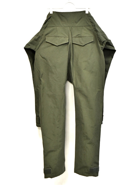 JULIUS sleeve pants khaki 通販 GORDINI008
