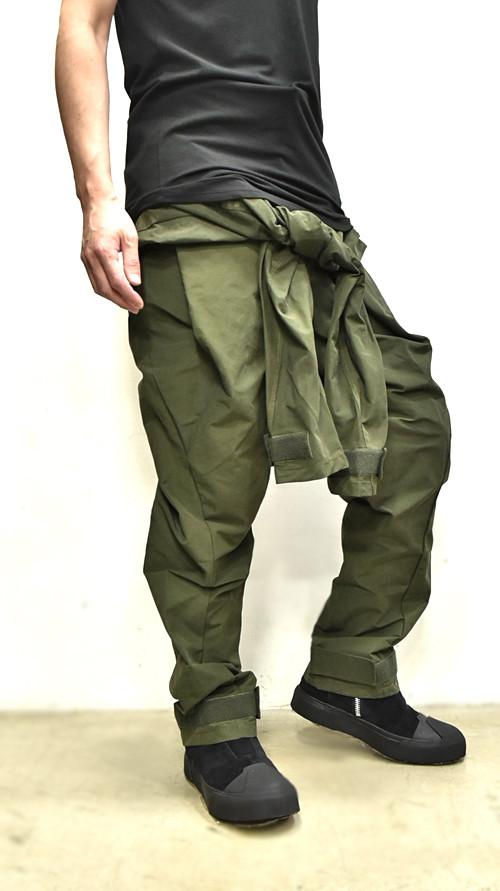 JULIUS Sleeve Baggy Pants 通販 GORDINI002
