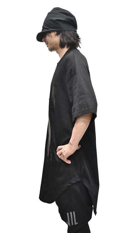 NILS Kamon Round T BLACK 通販 GORDINI003