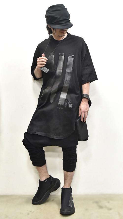 NILS Kamon Round T BLACK 通販 GORDINI009