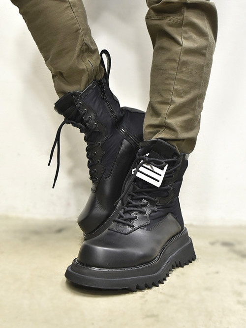 JULIUS Combat Boots 着用 通販 GORDINI001