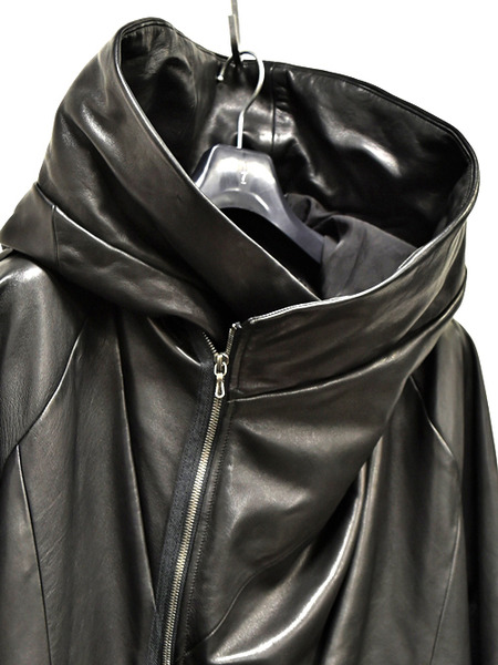 JULIUS leather parka 通販 GORDINI002