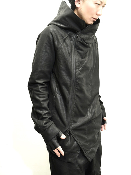 JULIUS coated zipup parka 通販 GORDINI002