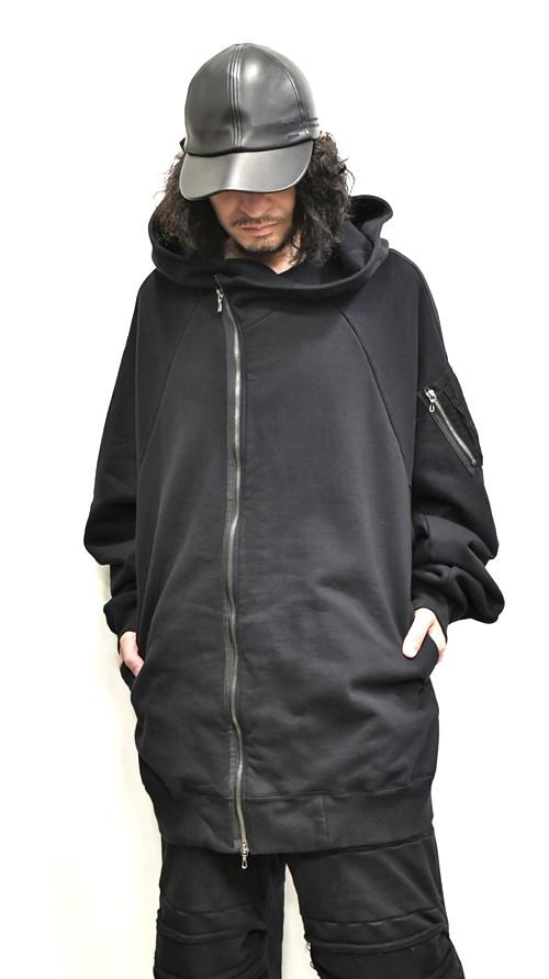 JULIUS MA-1 Style Hoodie 通販 GORDINI001