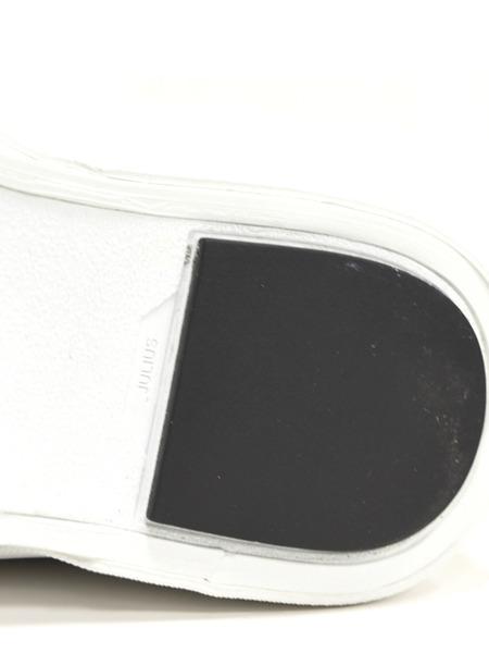 JULIUS スニーカー 黒白 通販 GORDINI012
