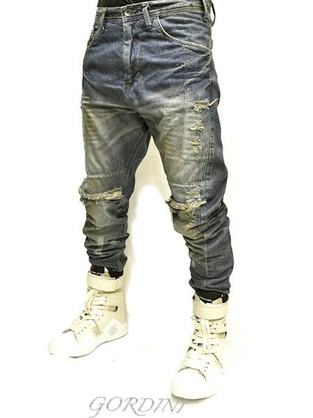 JULIUS rider pants indigo 通販 GORDINI010のコピー