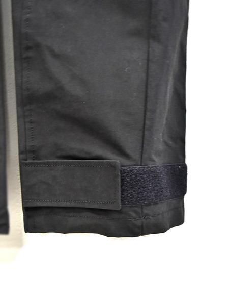 JULIUS sleeve pants black 通販 GORDINI004