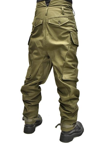 JULIUS baggy cargo khaki 着用 通販 GORDINI005