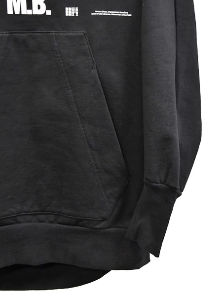 JULIUS print pull hoodie 通販 GORDINI004