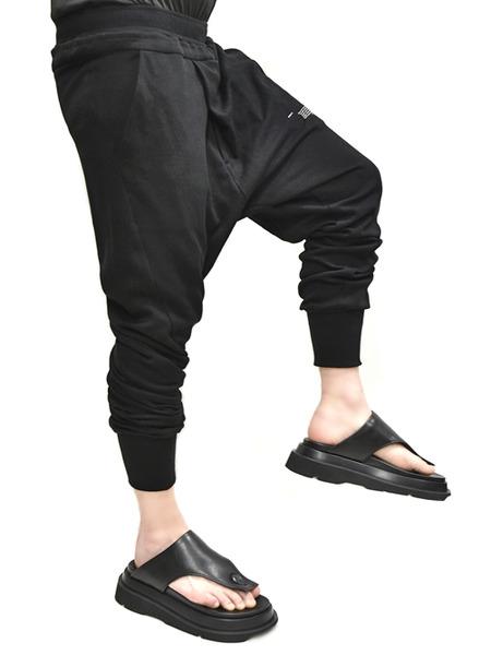 JULIUS tucked pants 通販 GORDINI008