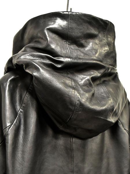 JULIUS leather parka 通販 GORDINI006