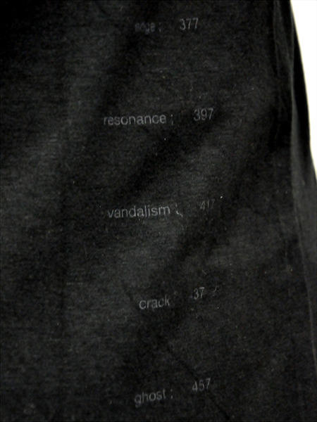 JULIUS ユリウス 別注 プリント Tシャツ カットソー 通販 GORDINI017