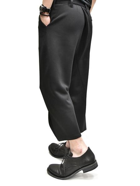 JULIUS tucked slit pants  通販 GORDINI006