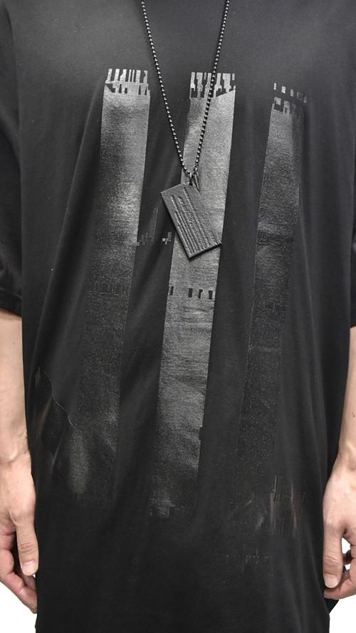 NILS Kamon Round T BLACK 通販 GORDINI006