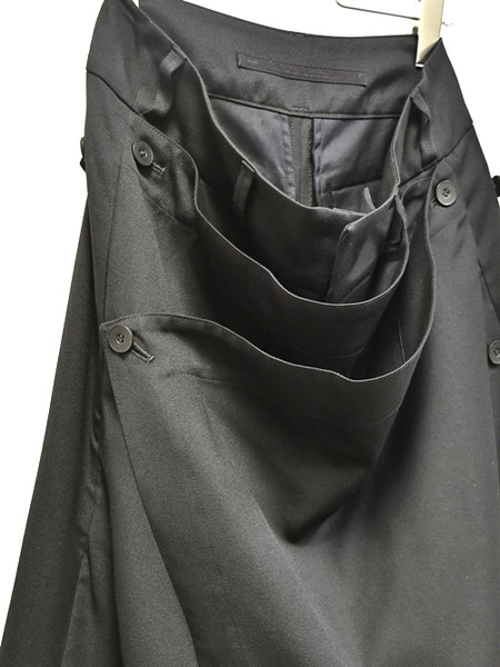 JULIUS baggy skirt trousers 通販 GORDINI002