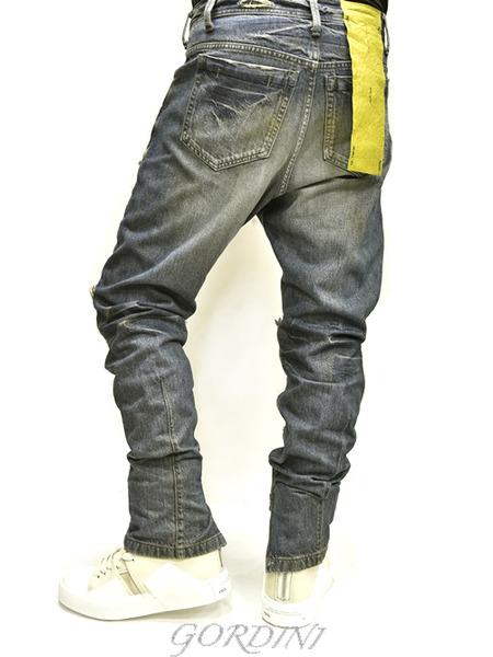 JULIUS rider pants indigo 通販 GORDINI018のコピー